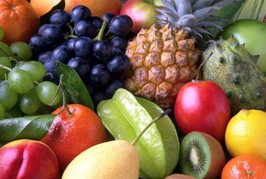 frutas verão