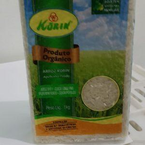 Arroz Agulhinha Polido Integral Orgânico R$ 9,99 KG