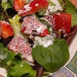 salada morango